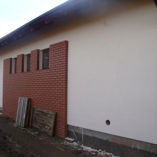 Dom Jednorodzinny Starołęcka Poznań w Trakcie Budowy