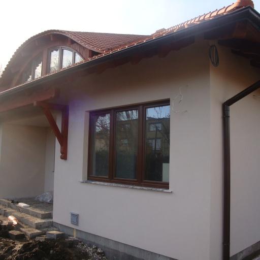 Dom Jednorodzinny Starołęcka Poznań Widok z Boku