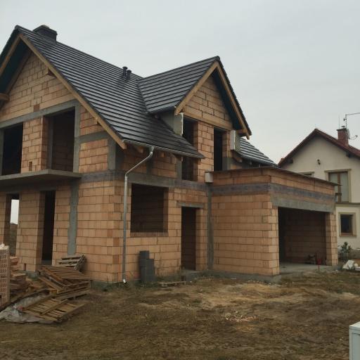 Dom Jednorodzinny Garby Budowa