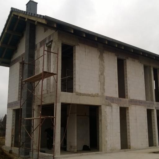 Dom Jednorodzinny w Gowarzewie w Trakcie Budowy