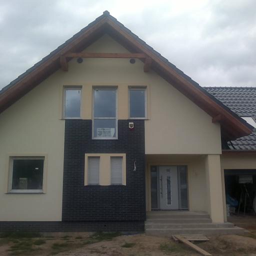 Front Domu Jednorodzinnego w Gruszczynie