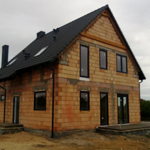Dom Jednorodzinny Lusowo Zielna widok z Frontu