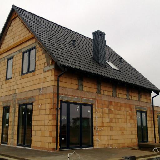 Dom Jednorodzinny Lusowo Zielna widok z Boku