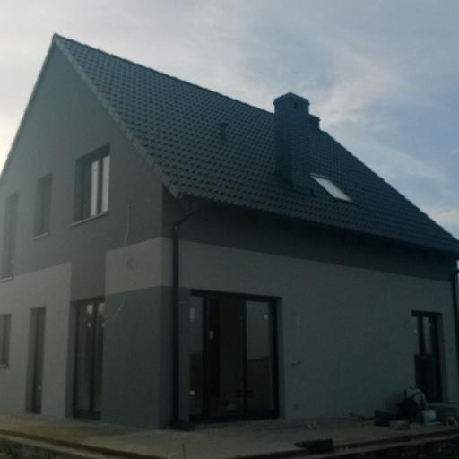Dom Jednorodzinny Lusowo Zielna Widok na Werandę