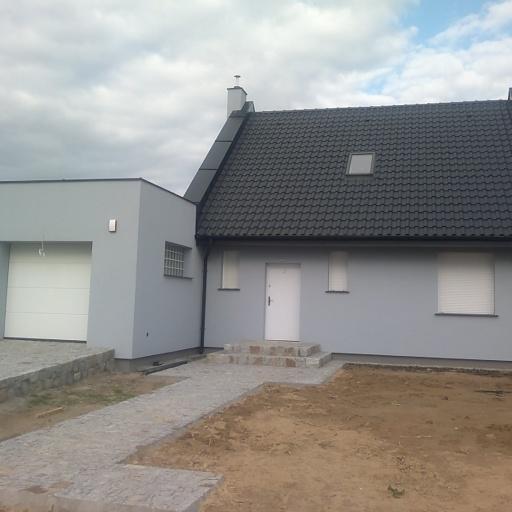 Dom Jednorodzinny Więckowice Front