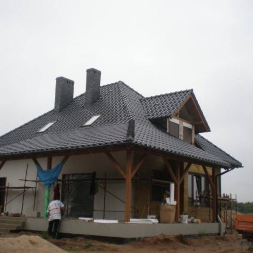 Dom jednorodzinny Skoki Budowa