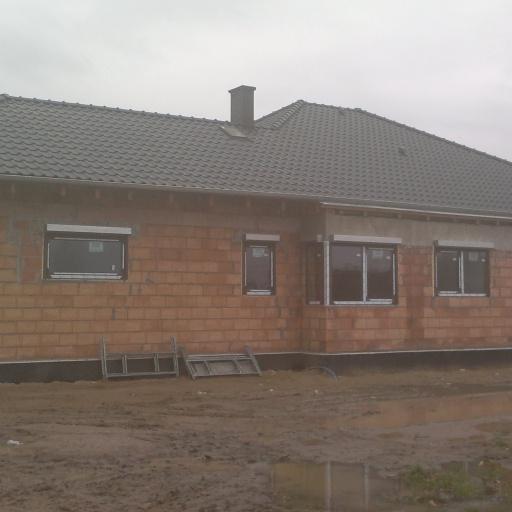 Dom Jednorodzinny w Sczepankowie koło Poznania w Trakcie Budowy