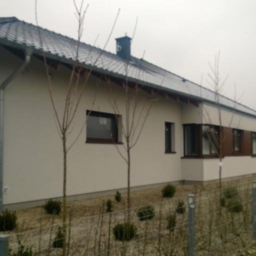 Dom Jednorodzinny w Sczepankowie Widok z Sąsiedztwa