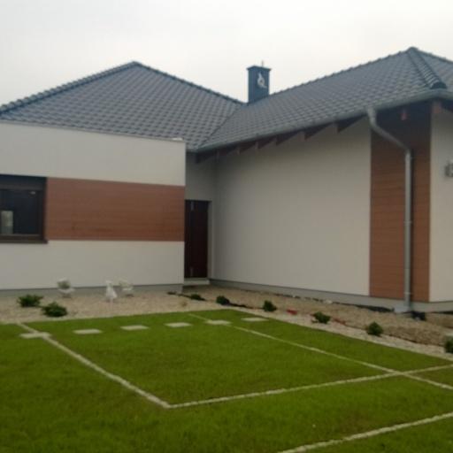 Dom Jednorodzinny w Sczepankowie Ogród