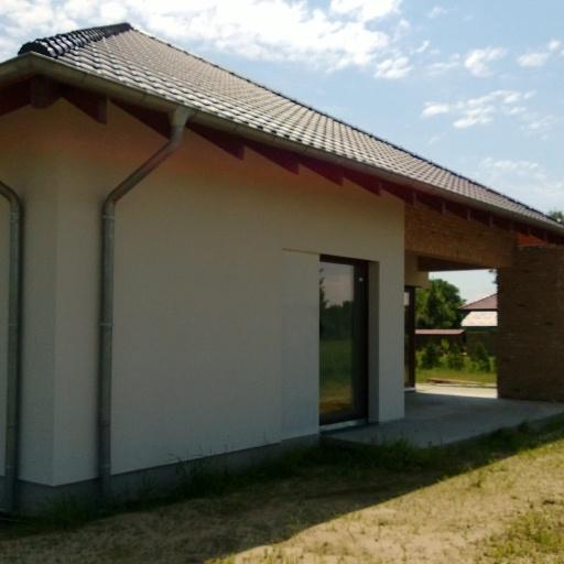 Dom Jednorodzinny w Sczepankowie koło Poznania Otynkowany