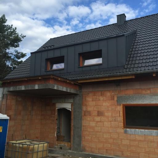 Dom Jednorodzinny Piła ul. Wiśniowa W Trakcie Budowy