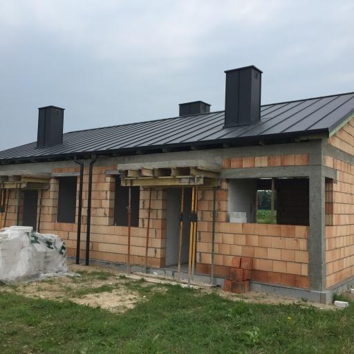 Bliźniak w Gaworzewie w Trakcie Budowy