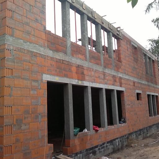 Budowa Przedszkola w Biskupicach Front