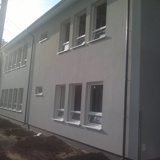 Budowa Przedszkola w Biskupicach Otynkowany