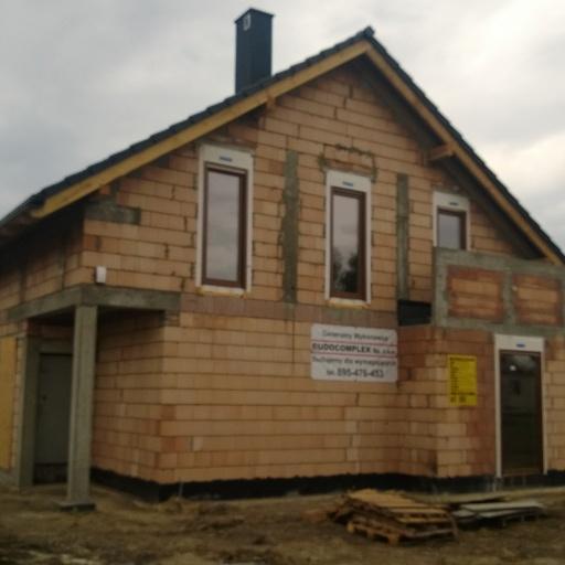 Dom Jednorodzinny Smugi, Buk pod Poznaniem Widok z Tyłu