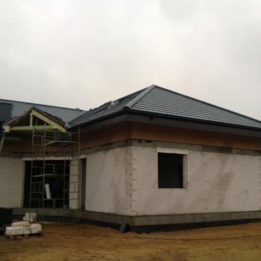 Budowa Domu Jednorodzinnego w Dąbrowie pod Poznaniem Front